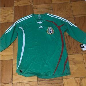 Adidas medium jersey Mexican soccer size medium